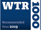 WTR 1000 recommended firm 2019 logo